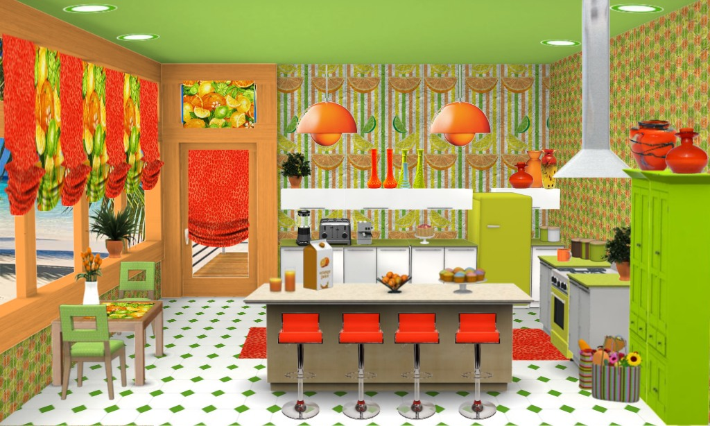 Citrus Kitchen Towels Brandi