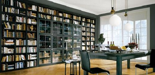 Mission: Create A Gorgeous Home Study/library For Design Reasons .